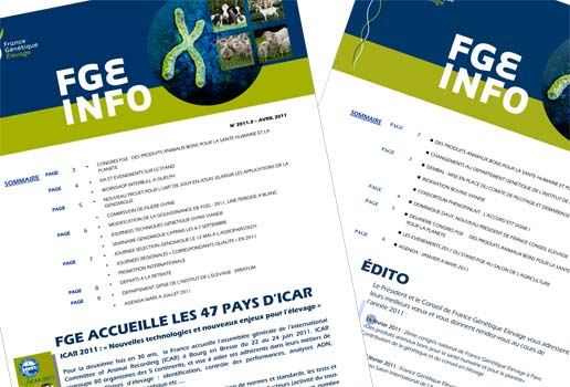 Lettres d'information nationales FGE